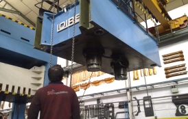 Transfer stamping press Loire to Portugal