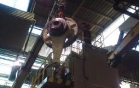 Reparación de prensa FAGOR de 630 TN